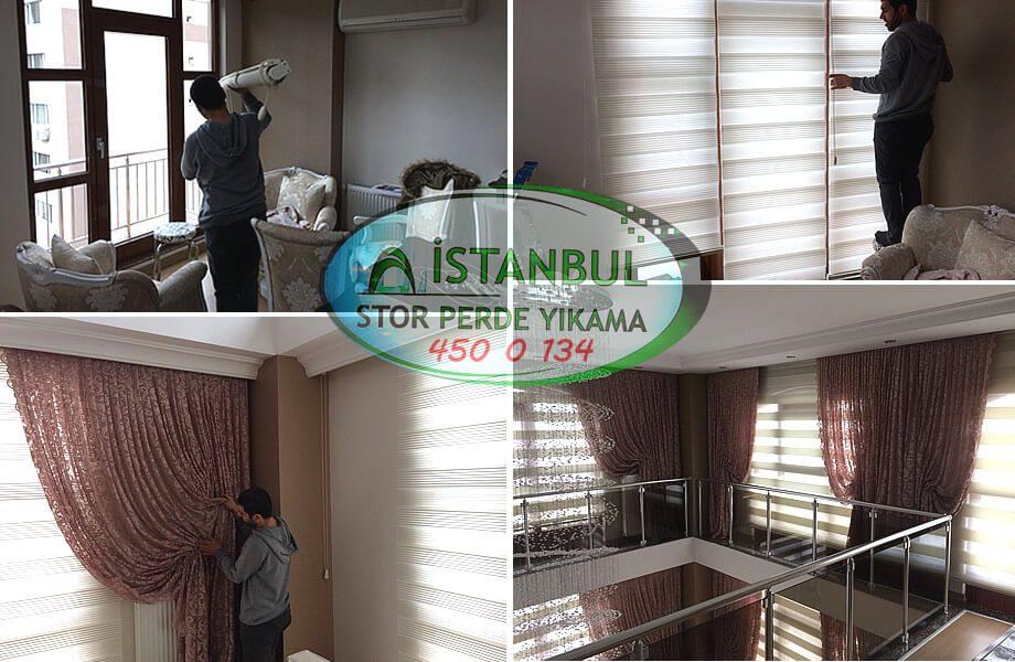 istanbul stor perde yıkama