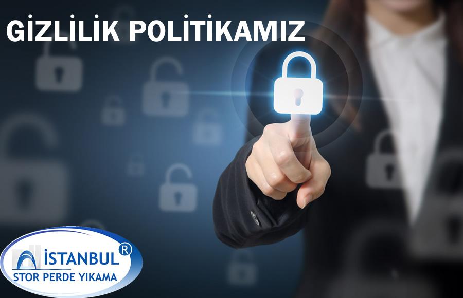İstanbul Stor Perde Yıkama ® Firması Gizlilik Politikası